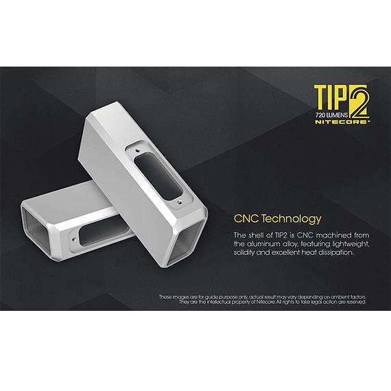 Linterna Compacta LED Nitecore 720 lúmenes Recargable USB TIP2- Image 24