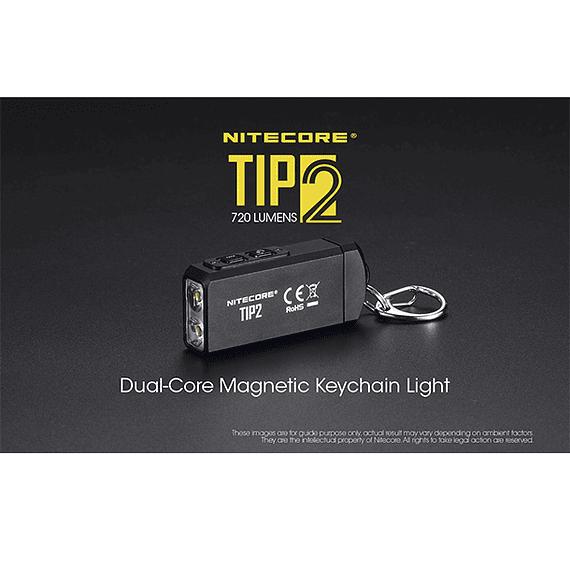 Linterna Compacta LED Nitecore 720 lúmenes Recargable USB TIP2- Image 28