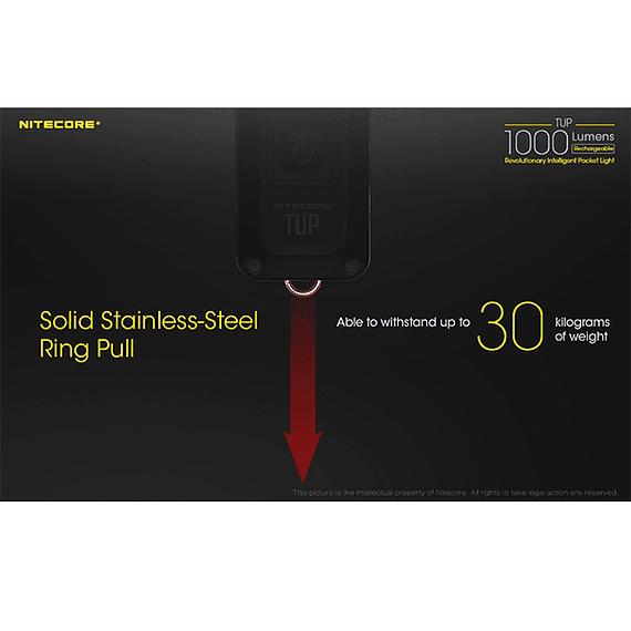 Linterna LED Nitecore 1000 lúmenes Recargable USB TUP- Image 7