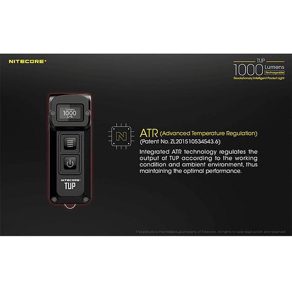 Linterna LED Nitecore 1000 lúmenes Recargable USB TUP- Image 10
