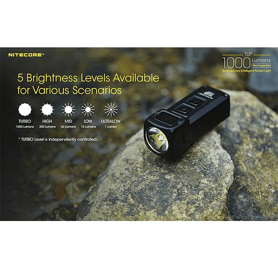 Linterna LED Nitecore 1000 lúmenes Recargable USB TUP- Image 12