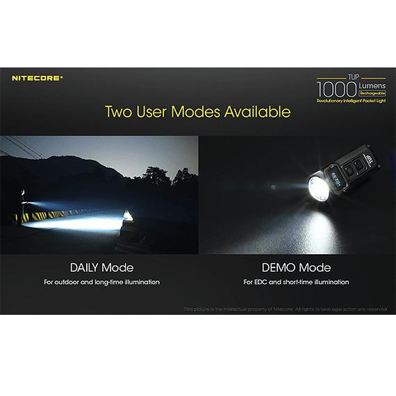 Linterna LED Nitecore 1000 lúmenes Recargable USB TUP- Image 16