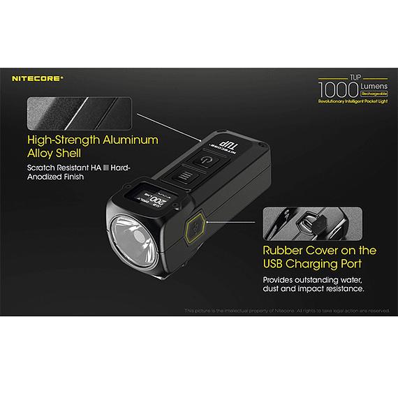Linterna LED Nitecore 1000 lúmenes Recargable USB TUP- Image 17