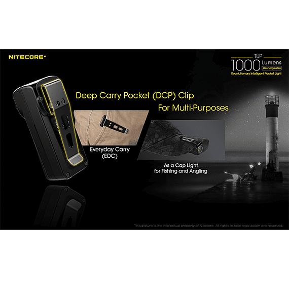 Linterna LED Nitecore 1000 lúmenes Recargable USB TUP- Image 19