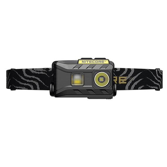 Linterna Frontal LED Nitecore 360 lúmenes Recargable USB NU25 Negro- Image 3