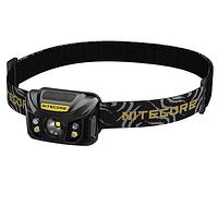 Linterna Frontal LED Nitecore 550 lúmenes Recargable USB NU32