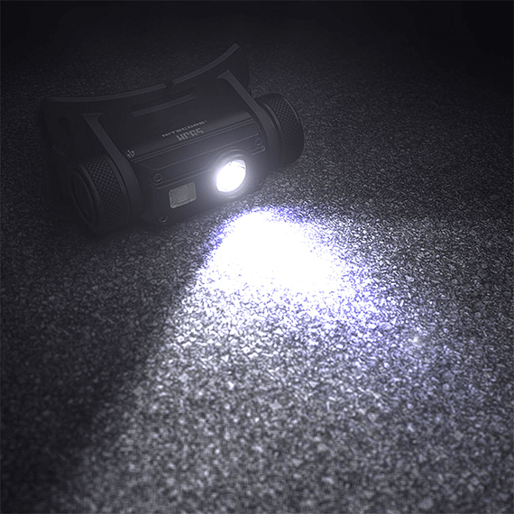 Linterna Frontal LED Nitecore 1000 lúmenes Recargable USB HC65- Image 2
