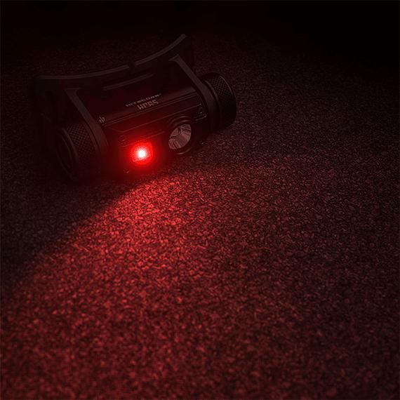 Linterna Frontal LED Nitecore 1000 lúmenes Recargable USB HC65- Image 4