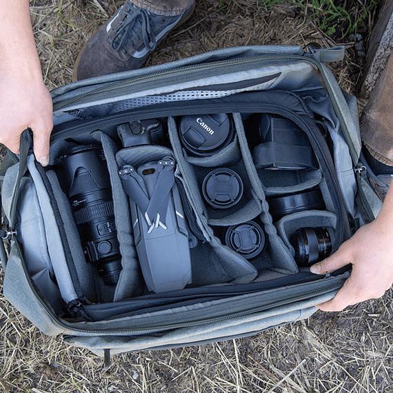 Bolso Peak Design Duffelpack 65L Negro- Image 8