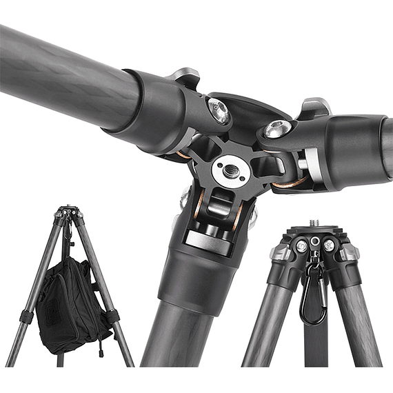 Trípode Carbono Leofoto Ranger con Cabezal 4 Sec. LS-224C- Image 12
