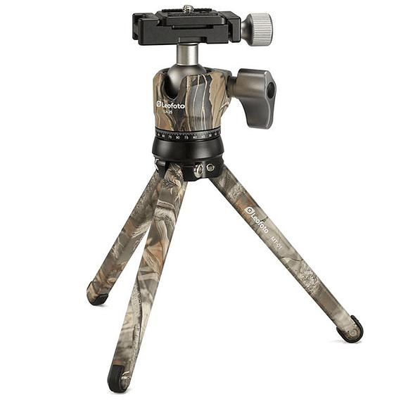 Trípode Compacto Leofoto con Cabezal MT-01- Image 1