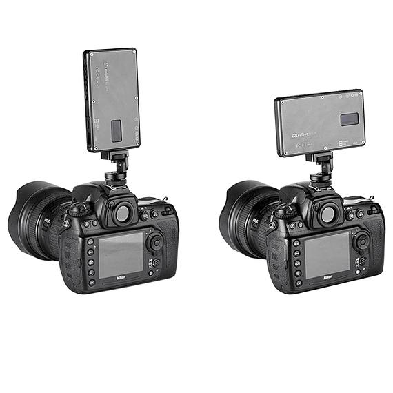 Foco LED y Cargador Leofoto 630 lúmenes FL-L120- Image 3