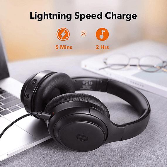 Audífonos Bluetooth con Cancelación de Ruido Activo SoundSurge 60- Image 6