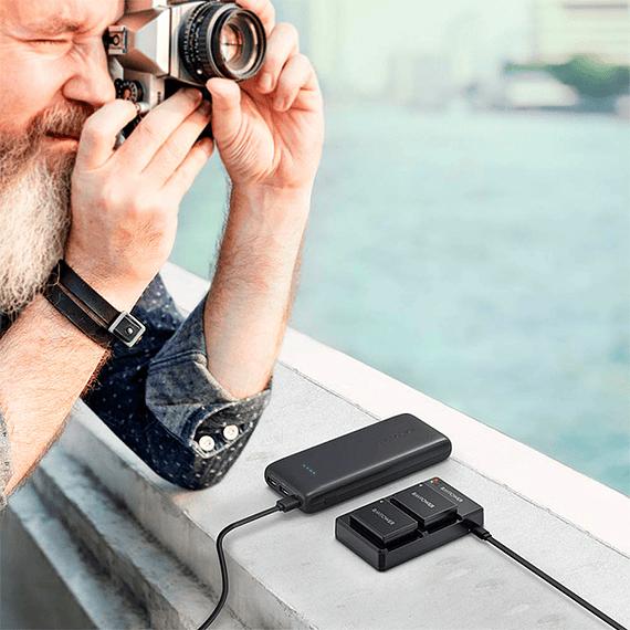 Batería Reemplazo RAVPower Fujifilm NP-W126S Kit 2x con Cargador USB- Image 9