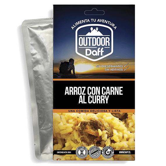 Comida Deshidratada Outdoor Daff Arroz con Carne al Curry- Image 1
