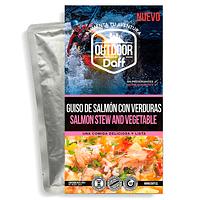 Comida Deshidratada Outdoor Daff Guiso de Salmón con Verduras