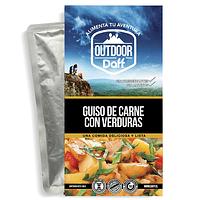 Comida Deshidratada Outdoor Daff Guiso de Carne con Verduras