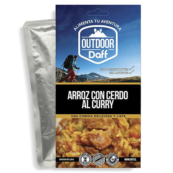 Comida Deshidratada Outdoor Daff Arroz con Cerdo al Curry- Image 1