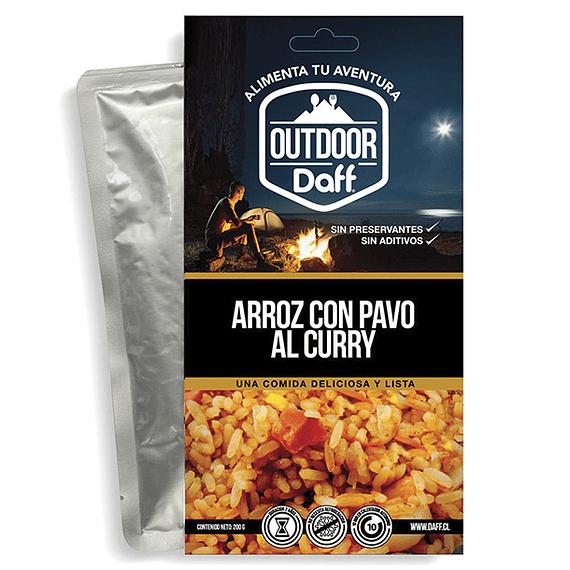 Comida Deshidratada Outdoor Daff Arroz con Pavo al Curry- Image 1