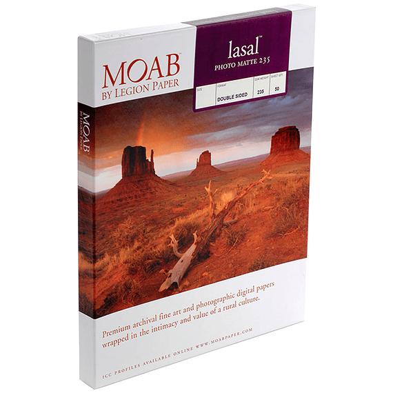 Papel Fine Art Moab Lasal Photo Matte 235 Tarjetas (7 x 10) 50 Hojas- Image 1