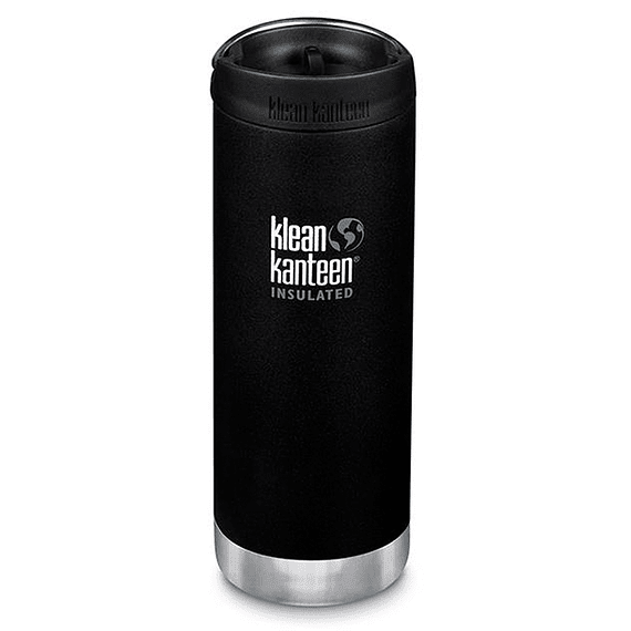 Botella Térmica Klean Kanteen 473ml (16oz) Insulated TKWide Shale Black- Image 1
