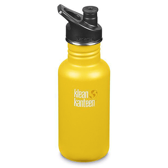 Botella Hidratación Klean Kanteen 532ml (18oz) Classic Lemon Curry- Image 1