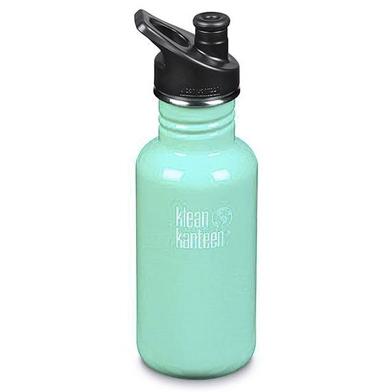 Botella Hidratación Klean Kanteen 532ml (18oz) Classic Sea Crest- Image 1