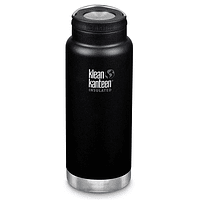 Botella Térmica Klean Kanteen 946ml (32oz) Insulated TKWide Loop Cap Shale Black