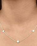 Collar 5 Estrellas Plata Fina 925