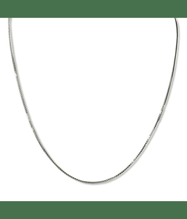 Cadena veneciana 40cm Plata Fina 925