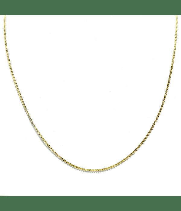 Cadena Grumet Enchapado Oro 18 K 59cm