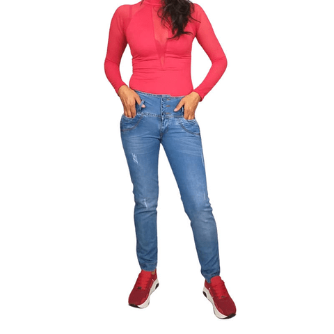 Jeans Colombiano JE0205 Azul Angel Jeans