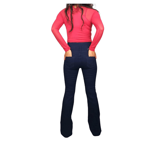 Jeans Colombiano JE6046 Azul Oscuro Angel Jeans