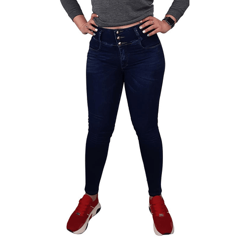 Jeans Colombiano JE3046 Azul Angel Jeans
