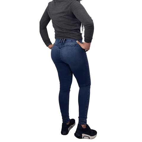 Jeans Colombiano JE9044 Azul Angel Jeans
