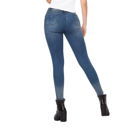 Jeans Colombiano Greicy Azul Autonomy