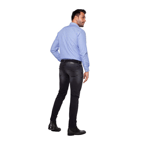 Jeans Casual Colombiano Duvan Negro  Daxxys Jeans