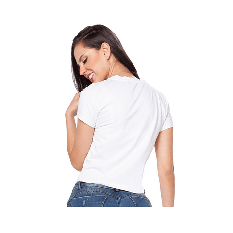 Blusa Colombiana Blanca Daxxys Jeans