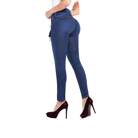 Jeans Colombiano Kimma Azul Daxxys Jeans