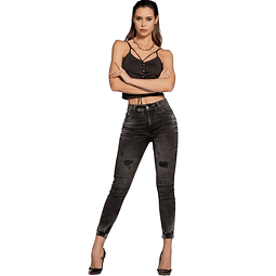 Jeans Colombiano Miel Grafito Autonomy