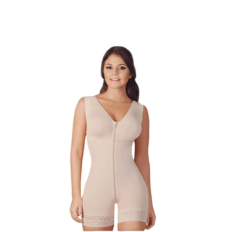Faja Media Pierna Colombiana  523-2 Beige Salome