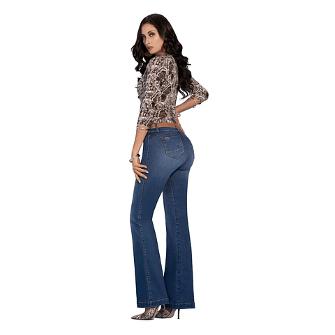 Jeans Colombiano Queen Azul Daxxys Jeans