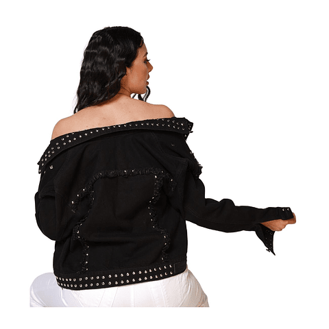 Chaqueta Colombiana Gem Negra Autonomy
