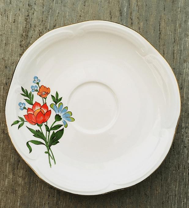 Gien, Francia, Platillo de té 14 cm