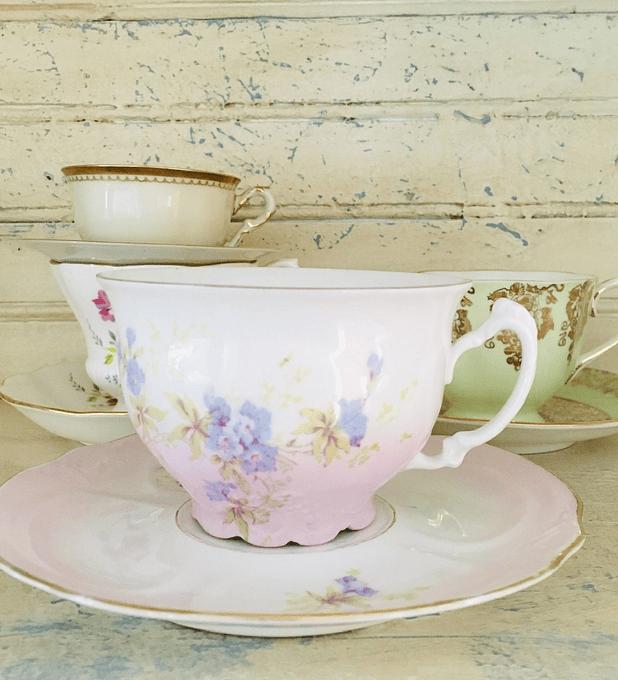 Francia, taza para chocolate, segunda mitad siglo XIX