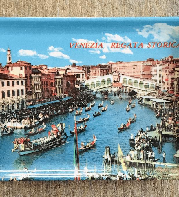 "Venecia bandejita   ""Regata Histórica"""