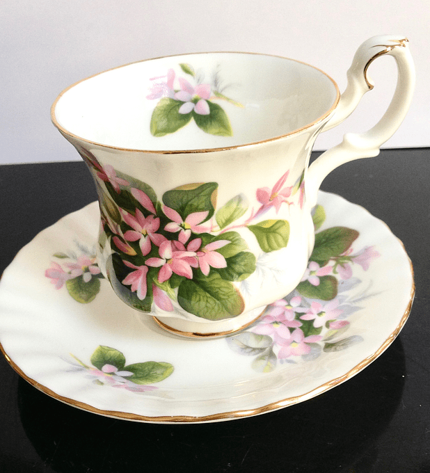 Royal Albert, Inglaterra, 'Mayflower', taza de café, 1970's