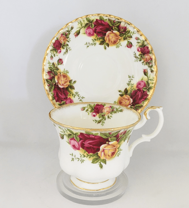 Royal Albert, Inglaterra, 'Old Country Roses', Taza de té , desde 1962