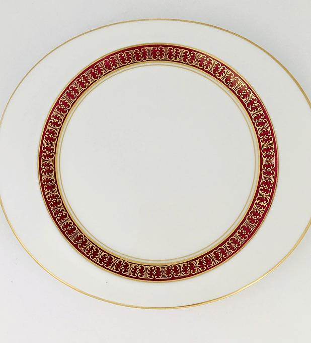 Rosenthal, Bavaria, Alemania, plato de pan/ torta 18,5 cm, 1962