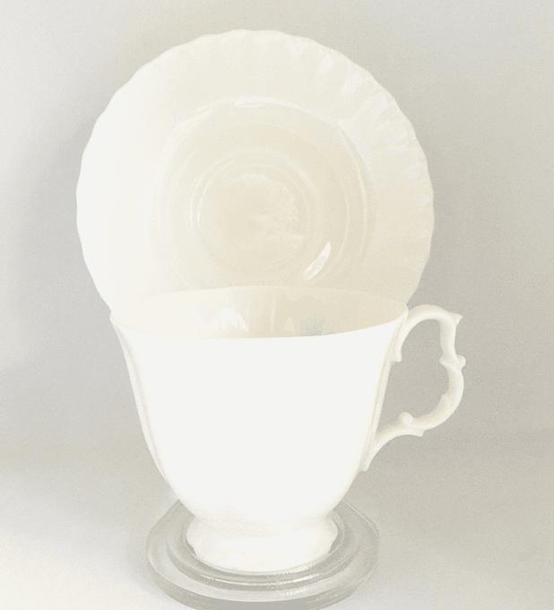 "Royal Albert, Inglaterra, taza de té , 'Gossamer', 1960s - 1970s"""
